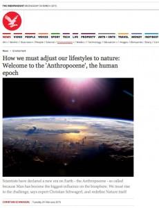 Independent Anthropocene1