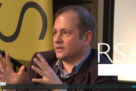 My Anthropocene talk at the RSA London