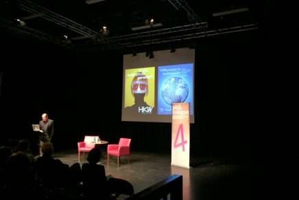 Talks at Cologne philosophy festival